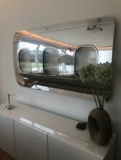 More details for boeing 737 window section mirror polished wall art