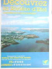 Affiche Découvrez La Rivière D'Etel, Morbihan