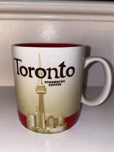 Starbucks Global Icon Mug Toronto Collector Series MIC 16 oz With SKU