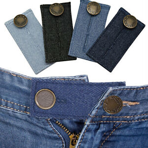 1Pc Universal Sewing Button Pants Jeans Metal Button Extension Trousers Extender