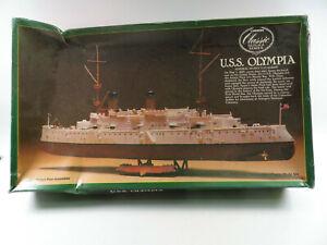 Lindberg USS OLYMPIA SHIP 1:240 KIT