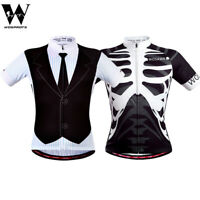 Men's Pro Cycling Jersey MTB Road Bike Sports Tops T-Shirts Breathable Quick Dry