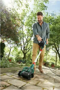 Parkside Electric Patio Cleaner with Roller Brush Multi Purpose Brush Universal