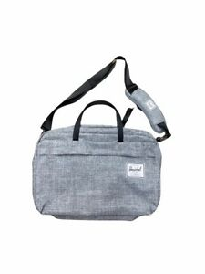 Herschel Supply Unisex Grey Laptop Bag / Backpack New and Unused w/ Minor Issue