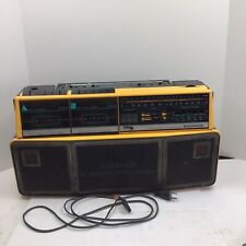 Working Vintage Magnovox D8300 Dual Deck Stereo Radio Cassette
