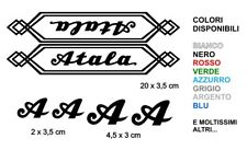 KIT Adesivi Atala Bici Vintage Alta qualità sticker decals Epoca Bike