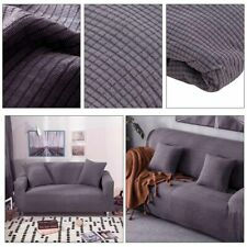 2 Seaters Sofa Settee Covers Couch Slipcovers Stretch Elastic Fabric UK