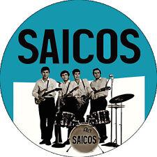 CHAPA/BADGE LOS SAICOS . sonics wailers rolling stones punk beatles sonambulos