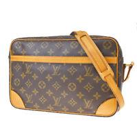 Auth LOUIS VUITTON Trocadero 30 Shoulder Bag Monogram Leather BN M51272 77MF048