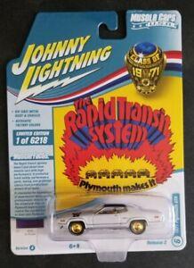 Johnny Lightning WHITE LIGHTNING 1971 Plymouth GTX - Version A Brand New VHTF