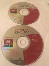 Bob Vila's Home Design Plan & Build Home Of Your Dream(Windows PC,1998)CD's 1&2