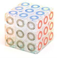 MoFang JiaoShi Crystal 3x3 Kingkong Ring Speed Rubik's Cube