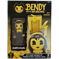 Bendy & The Ink Machine Alice Angel Booth Mini Figure Buildable Set Series 1 NEW
