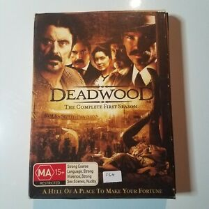 Deadwood: The Complete First Season | DVD TV Series | 2004 | Timothy Olyphant