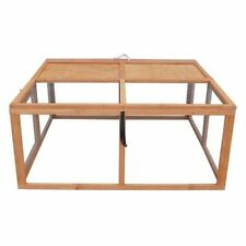 """45.6"""" Foldable Chicken Pen Bunny Hutch Hen House Poultry Cage By Yard Tuff"""