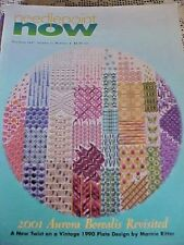 Needlepoint Now Magazine Back Issue Jul Aug 1999, Vol I Number 3 Lots of Charts