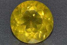 AAA+ 12.93ct Beautiful Natural Untreated Round Lemon Yellow Brazilian Citrine