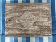 Handmade Natural Jute Doormat Welcome mat Bathmat Floor Covering Kilim Thick Rug
