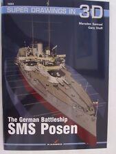 Kagero - German Battleship SMS Posen (Super Drawings in 3D)