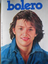 BOLERO n°8 1985 Luis Miguel - Trailer Gosth Buster Dario Argento Anna Oxa [D29]
