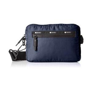 LeSportSac Convertible belt bag Fanny Pack Belt Waist Bag Classic Navy NWT