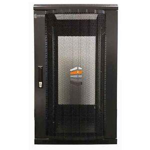 27U Server Rack 600 (W) x 600 (D) x 1400 (H) Glass Door Data cabinet