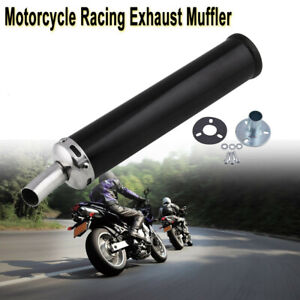280MM Motorcycle Racing Exhaust Muffler Silence Silencer 2 Stroke Motorcycle