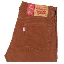 Levi's Jeans 514 Corduroy Pants Stretch Straight Below Waist