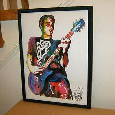 Benjamin Burnley Breaking Benjamin Singer Guitar Metal 18x24 Poster Print Art