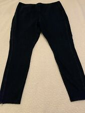 LYSSE Women's Plus Size Dark Skinny Jeggings with Zipper Detail - Size 3X - NEW!