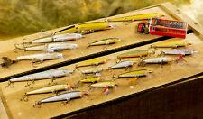20 Rapala Minnow Basla Fishing Lures - Original, Floating, Jointed, Countdown
