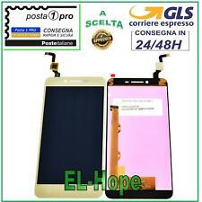 DISPLAY LCD LENOVO K5 VIBE A6020A40 TOUCH SCREEN SCHERMO MONITOR VETRO ORO GOLD