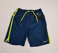 NIKE Men's Blue Force Swim Shorts Size Medium New MSRP $48