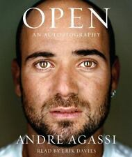 Open An Autobiography by Andre Agassi CD Book Audio- New in Plastic