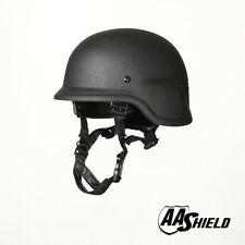 AA Shield Bulletproof PASGT M88 Military Tactical Helmet Aramid Safety IIIA BK