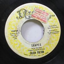 Hear! Psych Slow 45 Eileen Fulton - Shapes / What Their Showing On The Silver Sc