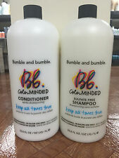 Bumble and Bumble Color Minded Shampoo and Conditioner 1Li/33.8fl.oz W.PUMS SET