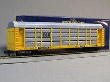 LIONEL AMERICAN FLYER CSX AUTO CARRIER TTGX S GAUGE 2 rail train AF 6-42591 NEW