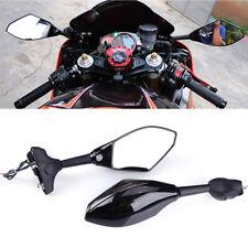 MOTORCYCLE SMOKE BLACK LED TURN SIGNAL MIRRORS FOR KAWASAKI NINJA 650R 500R 250R