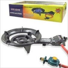 Portable Lpg Propane Gas Outdoor Camping Burner Stove Top Cast Iron Stovetop
