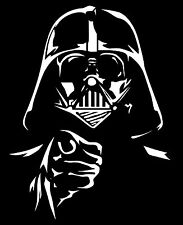 High Detail Star Wars Darth Vader Airbrush Stencil - Free UK Postage