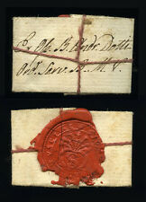 old relic folded + document B.ANDREAE DOTTI  19Th.