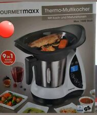 Gourmetmaxx Thermo Multikocher  1500W Kochen Mixen Küchenmaschine 9in1