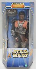 "Star Wars ROTJ LANDO SKIFF DISGUISE 12"" Action Figure Hasbro 2002 NIP 1:6th"