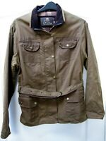 Elvedon Squire Waxed Jacket Size 18 Plus Country Festival Equestrian Outdoor Wax