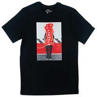 Nike NSW Stacked Box Logo Tee Mens T-Shirt Black Size S Sportswear Top