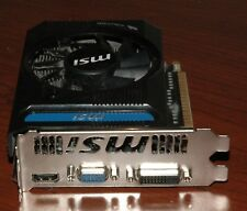 MSI NVIDIA GEFORCE GTX 650 TI VIDEO CARD N650TI-1GD5/OCV4