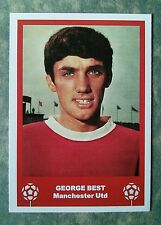MANCHESTER UNITED - GEORGE BEST - RETRO FATHERS DAY 'FOOTBALL CARD' /GIFT TAG
