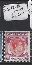 MALAYA  MALACCA  (PP0906B)  KGVI 35C  SG 12A  MOG