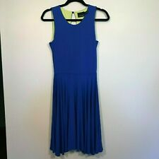 Cynthia Rowley Womens Casual Tank Sleeveless Blue Green Dress Size Small